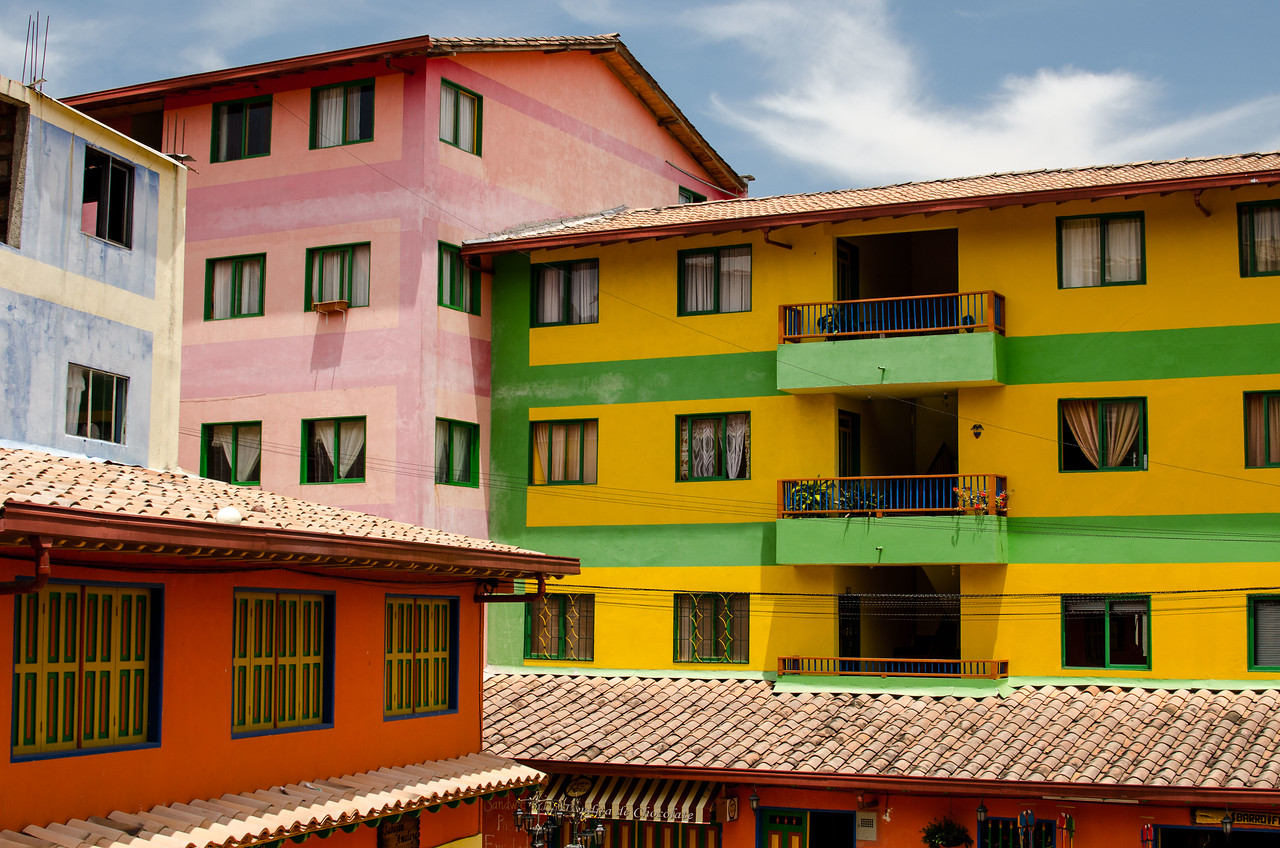 The richest village in colors I have ever seen, Guatape.