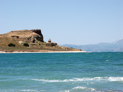 Ktuts monastery lake Van