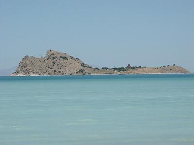 Akdamar island lake Van