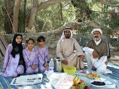 Wadi Madha exclave Oman