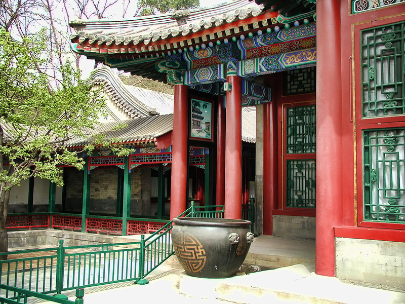 Restored area of the Summer Palace