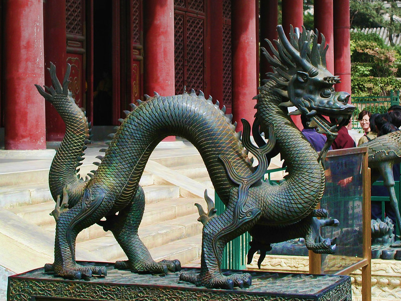 Summer Palace dragon