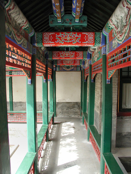 Summer Palace covered walkway