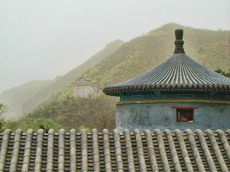 Great Wall -- more rooftops