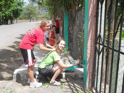 Jovenes en Camino - Harding Students Visit