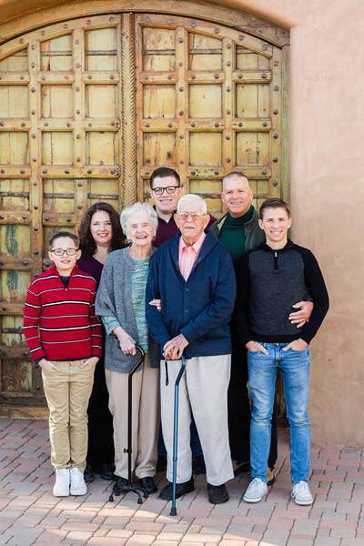The W Family | December 2017 | Marana, AZ