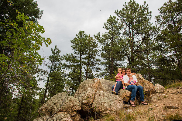 The F Family | Aug 2013 | Colorado | Chris & Sarah