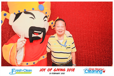 Joy of Giving 2018 | © www.SRSLYPhotobooth.sg