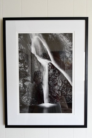 "Darwin Falls: Death Valley - 16x24"" matted and framed to 25x33""- $650"
