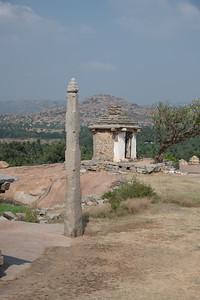 Small structure is the Sri Hanuman Mandir