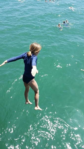 Sierra pier jump