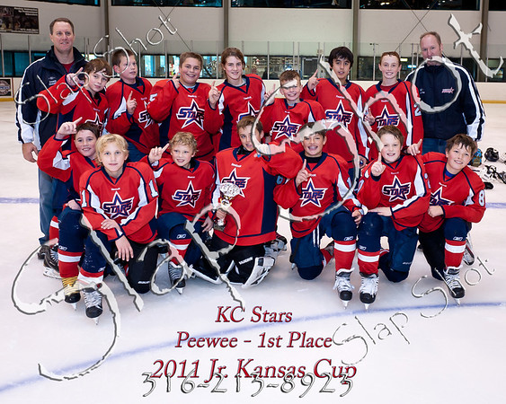1st Place Jr Cup Peewee
