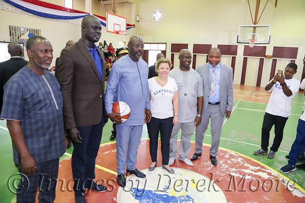 Jr. NBA Africa Basketball Clinic