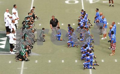 "11-08-09 Ewa Saints ""vs"" Hawaii Young Warriors (22-14)"
