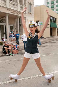 "2192-JrOB-PreParadeHappenings Pre-parade getting ready, staging, happenings and entertainment featuring the Hip Hop Kidz dance group of the 64th Junior Orange Bowl ""Sailing to New Adventures!"" Parade on Dec. 30th, 2012. (Photo by MagicalPhotos.com / Mitchell Zachs)"