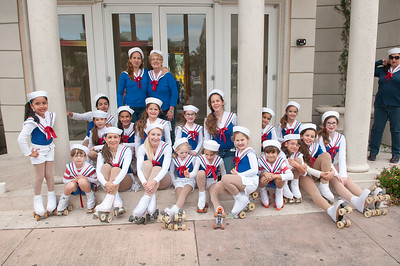 "2188-JrOB-PreParadeHappenings Pre-parade getting ready, staging, happenings and entertainment featuring the Hip Hop Kidz dance group of the 64th Junior Orange Bowl ""Sailing to New Adventures!"" Parade on Dec. 30th, 2012. (Photo by MagicalPhotos.com / Mitchell Zachs)"