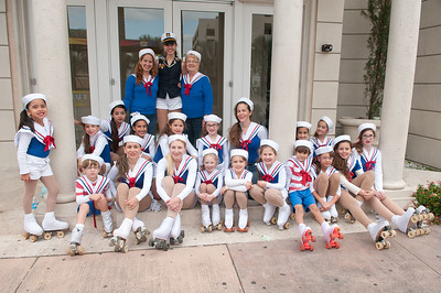 "2189-JrOB-PreParadeHappenings Pre-parade getting ready, staging, happenings and entertainment featuring the Hip Hop Kidz dance group of the 64th Junior Orange Bowl ""Sailing to New Adventures!"" Parade on Dec. 30th, 2012. (Photo by MagicalPhotos.com / Mitchell Zachs)"