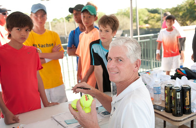 The Junior Orange Bowl Tennis Tournament Boys 12 & under on December 18th, 2012 at the Salvadore Park in Coral Gables. (Photo by MagicalPhotos.com / Mitchell Zachs)
