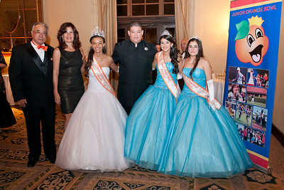 3097-JrOB-QueensBall  Junior Orange Bowl Queen's Ball in the Alhambra Room at the Biltmore Hotel in Coral Gables on Jan. 5th, 2012. (Photo by MagicalPhotos.com / Mitchell Zachs)