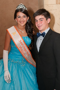 3108-JrOB-QueensBall  Junior Orange Bowl Queen's Ball in the Alhambra Room at the Biltmore Hotel in Coral Gables on Jan. 5th, 2012. (Photo by MagicalPhotos.com / Mitchell Zachs)