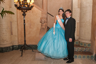 3109-JrOB-QueensBall  Junior Orange Bowl Queen's Ball in the Alhambra Room at the Biltmore Hotel in Coral Gables on Jan. 5th, 2012. (Photo by MagicalPhotos.com / Mitchell Zachs)
