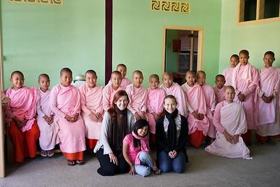 An afternoon at a monastery in Nyaung Shwe, near Inle Lake, Burma (Myanmar).