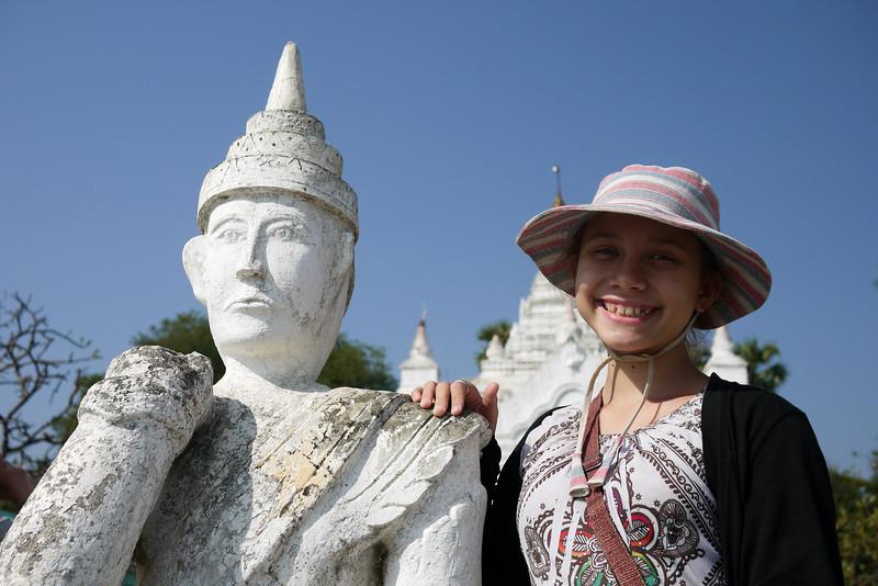 Mingun, on the Irrawaddy River near Mandalay.