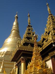 Shwedagon Paya in Yangon, Myanmar (Burma)