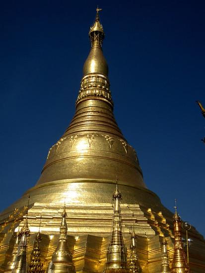 Shwedagon Paya in Yangon, Myanmar. in Yangon, Myanmar (Burma)