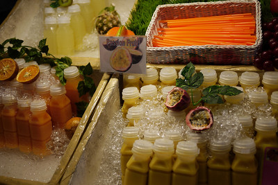 Fresh passion fruit juice from the Night market