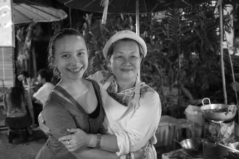 The woman who made samosas each week at the markets was a fast friend.