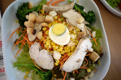Salad from Salad Concept in Chiang Mai, Thailand