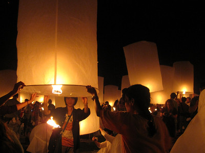 This is how big lanterns actually are and what you have to do to make them float up into the air.