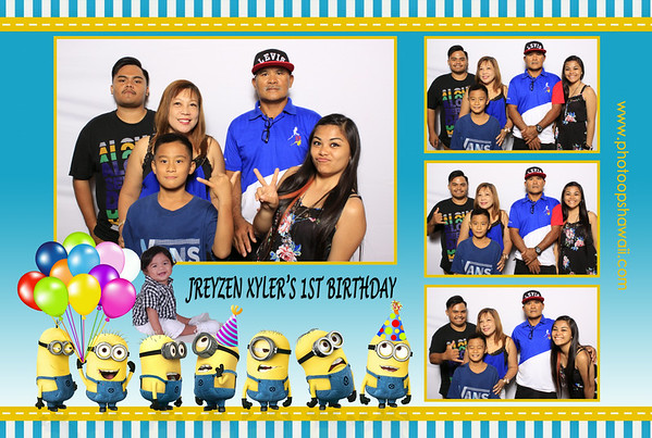 Jreyzen's 1st Birthday Celebration (Fusion Portraits)