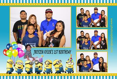 Jreyzen's 1st Birthday Celebration (Fusion Portraits)