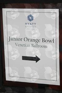 0110-JrOB-FestivalKickoff - Junior Orange Bowl Festival Kickoff at the Hyatt Regency Coral Gables on Sept 17th, 2013 in Miami. (Photo by MagicalPhotos.com / Mitchell Zachs)