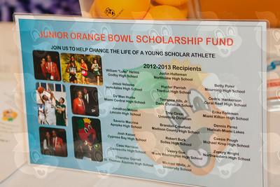 0124-JrOB-FestivalKickoff - Junior Orange Bowl Festival Kickoff at the Hyatt Regency Coral Gables on Sept 17th, 2013 in Miami. (Photo by MagicalPhotos.com / Mitchell Zachs)