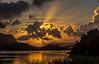 Soloppgang over Lutsi, Sandnes