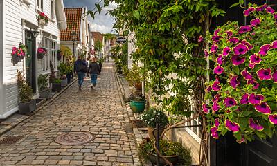 Spasertur i Gamle Stavanger