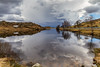 Fjellvatnet; mellom regnbyene