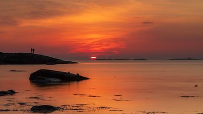 Nyter solnedgangen på Jæren, Rogaland