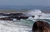 Bølger ved Brusand