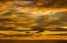 Fargespill ved solnedgangen over Sele, Klepp kommune