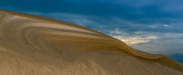 Detalj av sanddyne, Orrestranden
