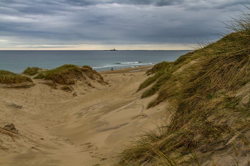 Høye sanddyner Borestranda