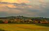 «Golden hour» – i uværet. Vestre Bore, Klepp kommune
