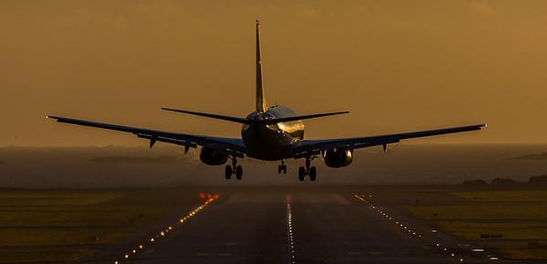 Landing på Sola