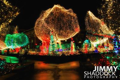 Fayetteville Arkansas Trail of Lights Square