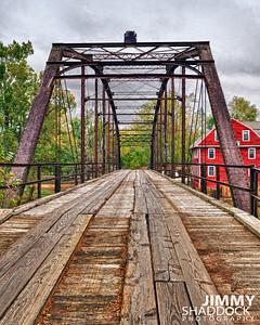 War Eagle Bridge Arkansas HDR