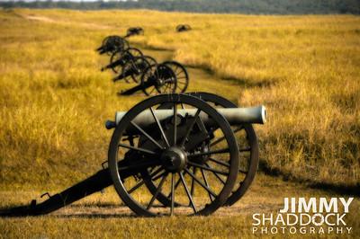 Canons Civil War Battlefield